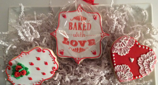 Specialty hand decorated sugar cookies and gourmet desserts made to order.Special Occasion Ccookies