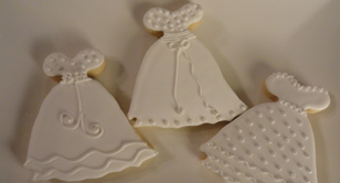 Specialty hand decorated sugar cookies and gourmet desserts made to order.Bridal Showers